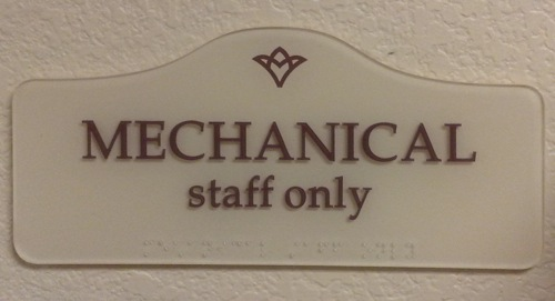 Mechanical Staff